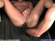 Doctor play with patient ass