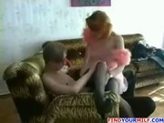 Naughty Russian Mom with her Son's Friend