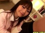 Watch this japanese teen schoolgirl