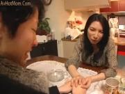 Young wife and young mother in-law scene 1censored