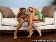 Lisa Daniels and Demi Delia Lesbian
