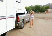 Trailer Park Threesome With Claire Dames and Kelly Madison