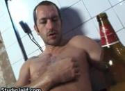Eduardo jerking his fine gay cock