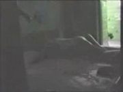Homemade- Couple having some fun in the room