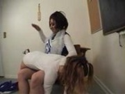 Spanking Cheerleader