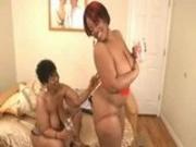 Ebony BBW Lesbian Action