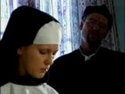 big tit nun