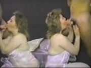 Real amateur TWINS vintage suck action