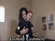 Pinky and Jazmine Cashmere oral fest