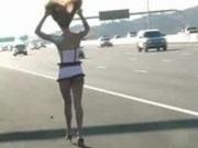 FTV GIRLS Gabriella Public nudity