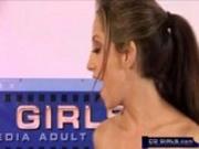 Jenna Haze oil orgy with Carlie Babnks