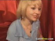 Hot Blonde Naked and Horny On Webcam