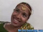 Gaya Patal in Her first gang bang
