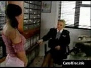Hot British Lesbian Policewoman seduces Young Fren
