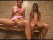 Piss: Aurora Snow and others - Tinkle Time - Scene 1