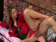 Piss: Satin - two hot girls suprise for one man