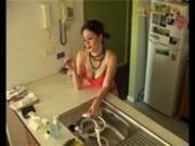 kitchen sink masturbation
