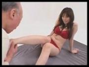 Sex Grandpa Shigeo Tokuda with Ruru Amakawa mosaic