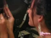 Raven Riley and Harley Davidson