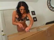 Huge... dick in a box