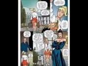 Busty blonde sexual bondage comic cartoon