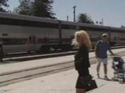 jill takes a train