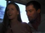 Tricia Deveraux gets nailed by two guys