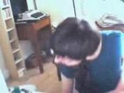 Ex british on MSN Webcam