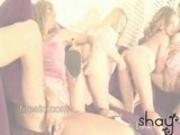 Four Lesbo Orgy