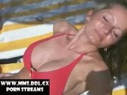 Blond Girl with great Boobs fucks in her Holiday