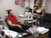 Brandi Love having sex at the Office