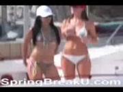 Hot Bikini Babes At Lake Havasu