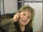 BBW Blonde Granny Anal Sex
