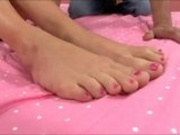 Kacey Jordan Foot Job