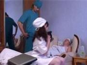 Doctor fucking a nurse