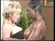 Ebony Ayes and Danni - Wrestling