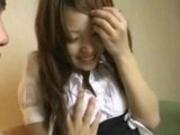 Hairy Asian Teen Vibrator Penetrated