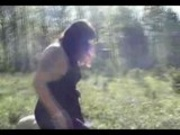 femdom slapping and facesitting outdoor