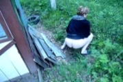 Piss; My wife pissing-1