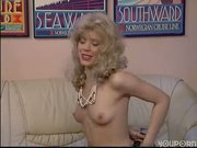 Blonde chick gets down to business - DBM Video