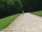 Hanka - Hot Blonde Naked In Public