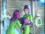 Green purple people eater PT.1