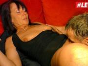 LETSDOEIT - Kinky Gilf Loves Her Husbands Big Cock