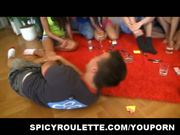 18yo hot girls get crazy at the party game