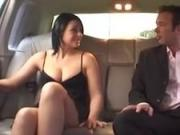 Stunning dutch girl gets fucked in the backseat of a limo