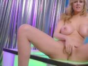 Sexy Milf Julia Ann in Strip Tease & Solo!