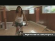 Ass worship on bicycle Mybestfetish