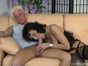Pierced older German gets pounded - Inferno Productions