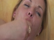 Older Lesbians play with themselves and each other