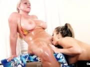 Pussy Lovers Carmen Valentina & Karen Fisher Eat That Snatch